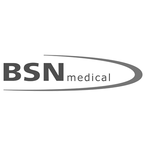 Logo BSN medical, black & white