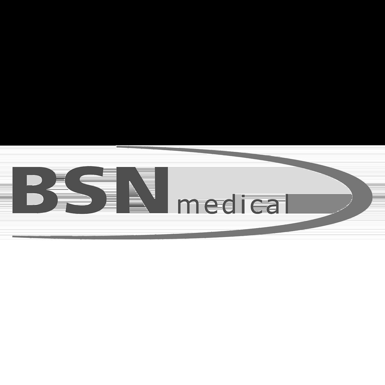Logo BSN medical, black & white