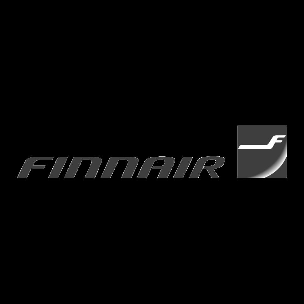 Logo Finnair, black & white
