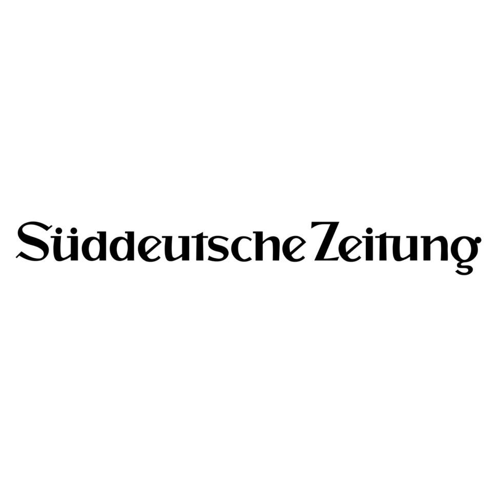 Logo Süddeutsche Zeitung, black & white