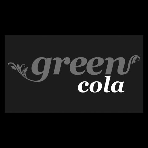 Logo green cola, black & white