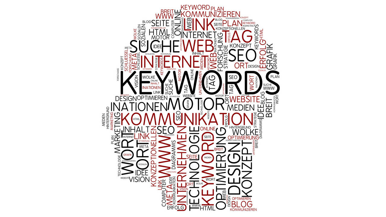 Keywords Tag Cloud Head