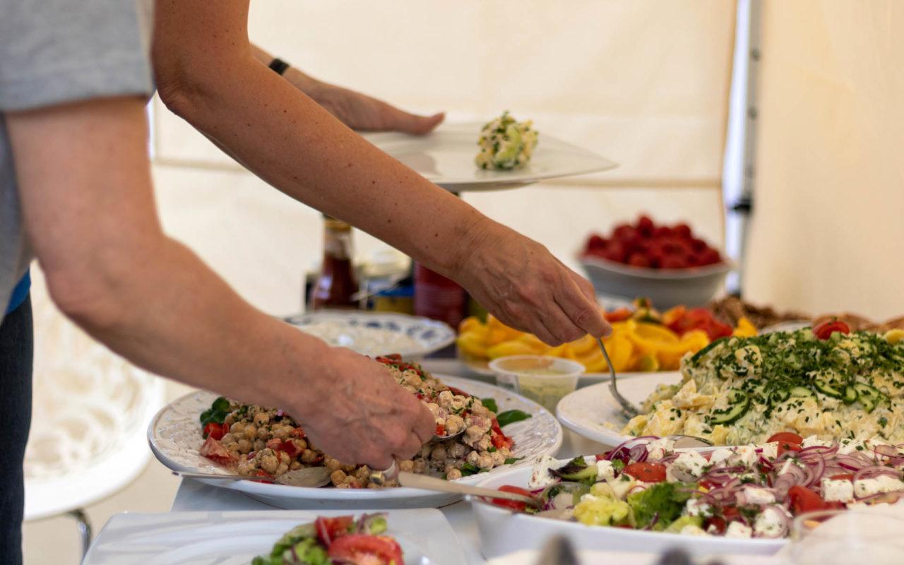 Sommerfest 2019, Salate
