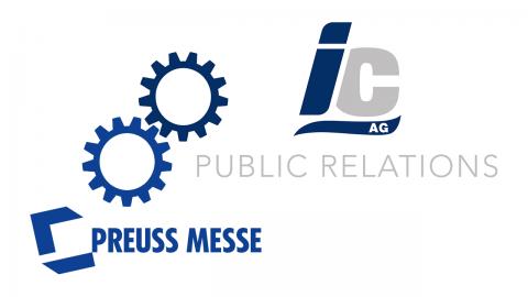 IC AG + Preuss Messe GmbH = Live PR cooperation