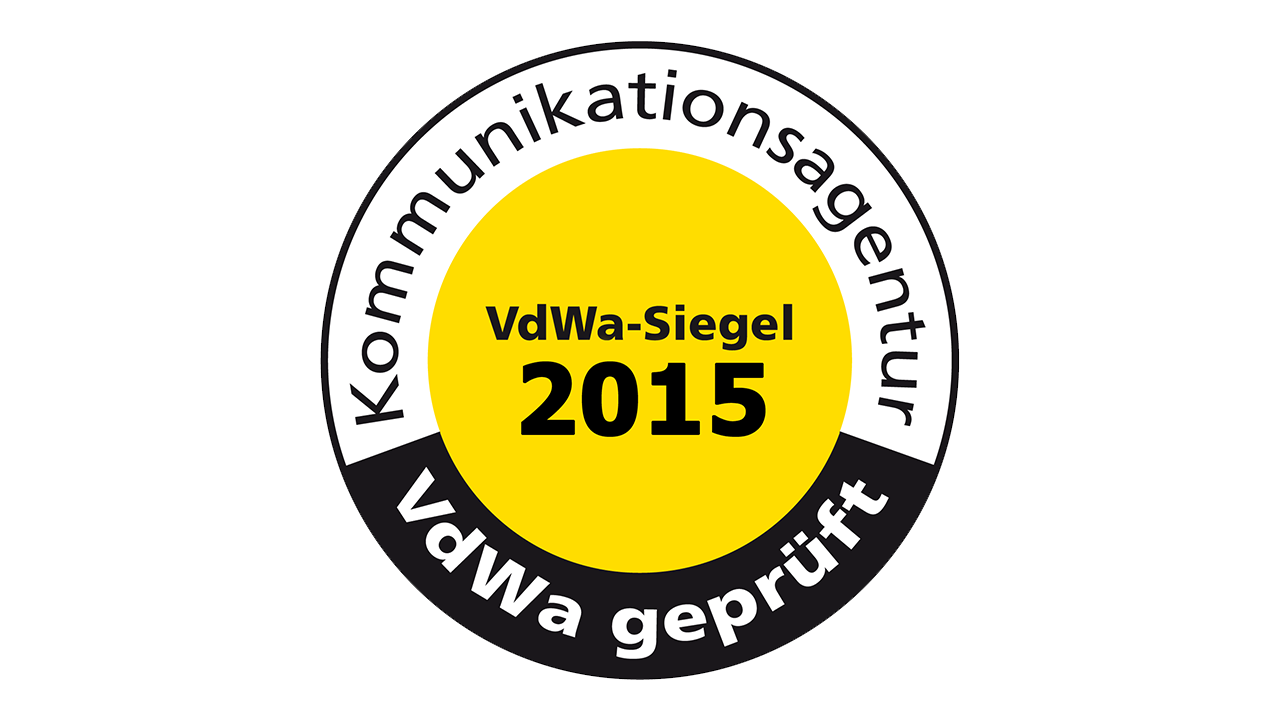 VdWa Agentursiegel 2015