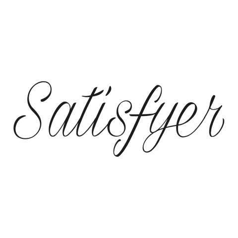 Logo Satisfyer, black & white