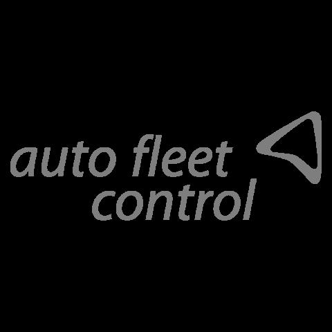 Logo Auto Fleet Control, black & white
