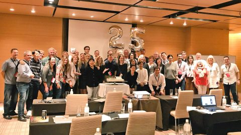 PRGN celebrates 25th Anniversary in Kyoto