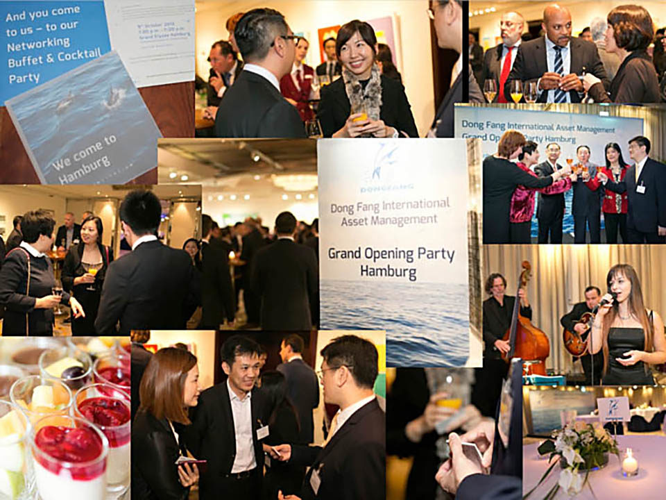 DongFang Opening Party Hamburg