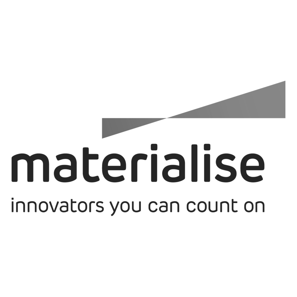 Logo Materialise, black & white