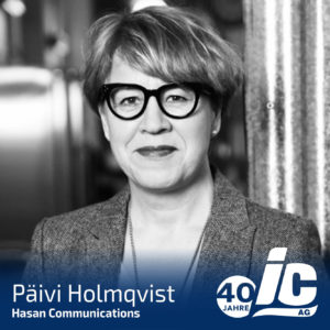 Hasan Communications, Päivi Holmquist