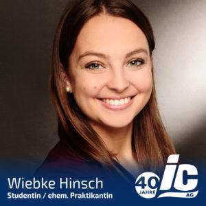 Student, Wiebke Hinsch