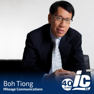 Mileage Communications, Boh Tiong