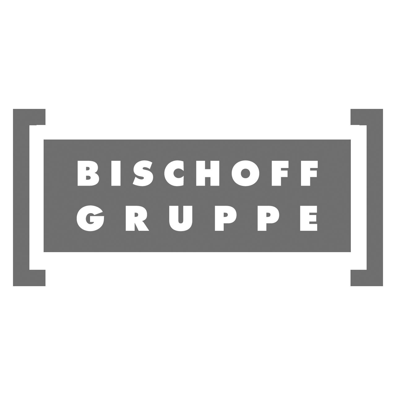 Logo Bischoff-Gruppe, black & white