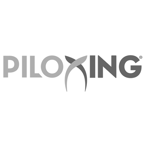 Logo Piloxing, black & white