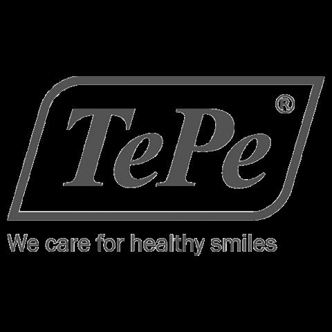 Logo TePe, black & white