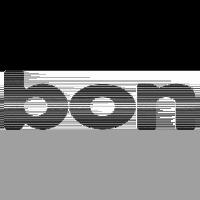 Logo bon Optic, black & white