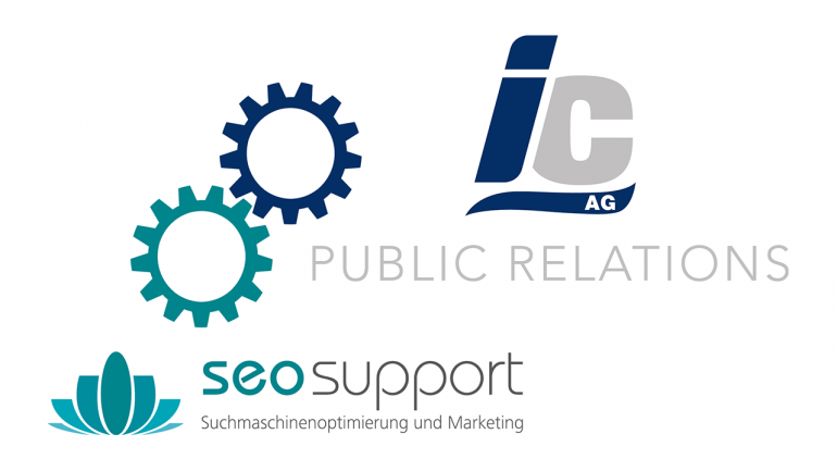 IC AG + seosupport = SEO PR cooperation