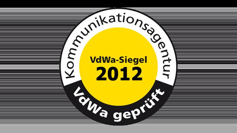 VdWa Agentursiegel 2012