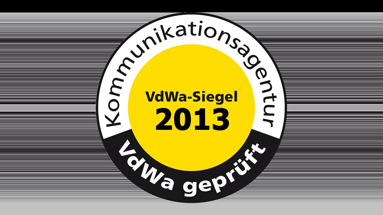 VdWa Agentursiegel 2013