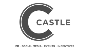 Logo The Castle Group, black & white