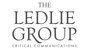 Logo The Ledlie Group, black & white