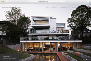 Reichardt und Partner Architekten, Website Screenshot