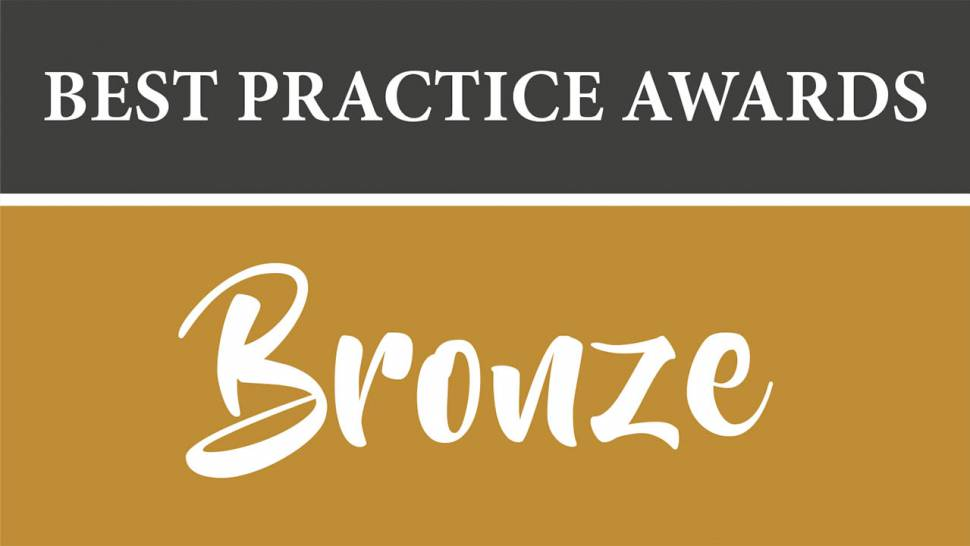 PRGN Best Practice Award Bronze