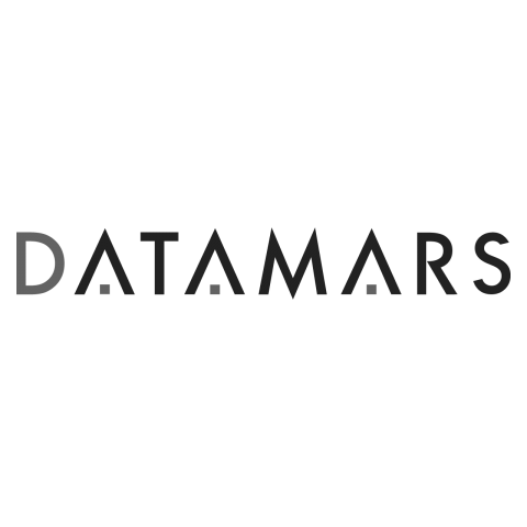 Logo DATAMARS, black & white