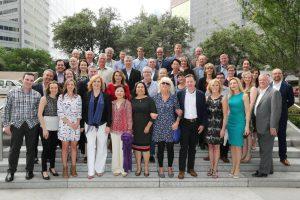 Mitglieder des Public Relations Global Network (PRGN) bei der Konferenz in Dallas, Texas.
