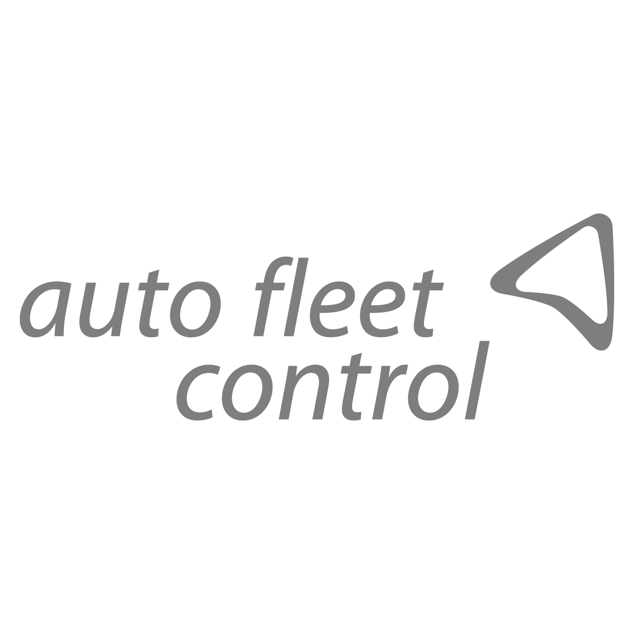Logo Auto Fleet Control, black & white