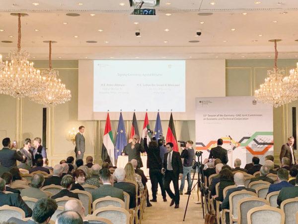 Deutschland und VAE – Konferenz im Berliner Adlon-Hotel, 0641