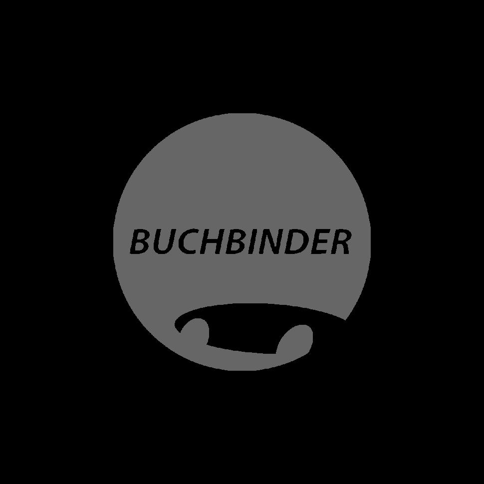 Logo Buchbinder, black & white