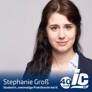 Praktikantin, Stephanie Groß